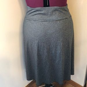 Tranquility Skirts - Tranquility black and gray skirt